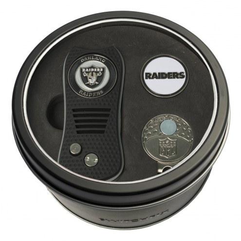 Oakland Raiders Switchfix Golf Divot Tool, Hat Clip, & Ball Marker