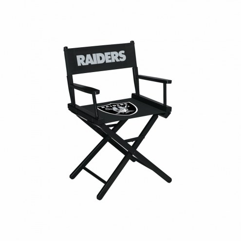 Oakland Raiders Table Height Director's Chair