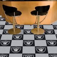 Oakland Raiders Team Carpet Tiles