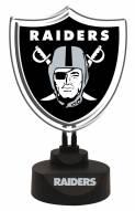 Las Vegas Raiders Team Logo Neon Light