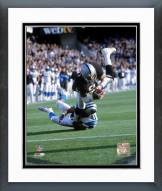 Oakland Raiders Tim Brown Action Framed Photo