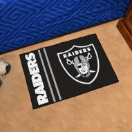 Las Vegas Raiders Uniform Inspired Starter Rug