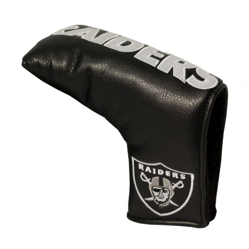 Oakland Raiders Vintage Golf Blade Putter Cover