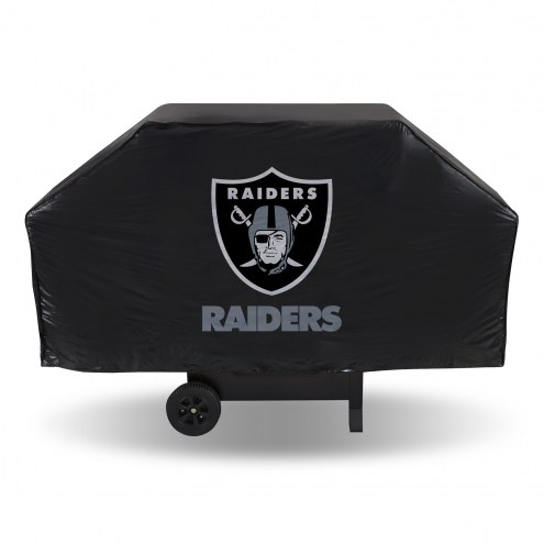 Oakland Raiders Vinyl Grill Cover