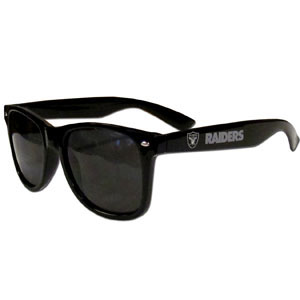 Oakland Raiders Wayfarer Sunglasses