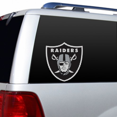 Oakland Raiders Window Film
