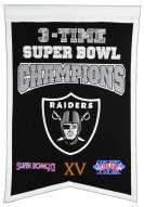 Las Vegas Raiders Champs Banner