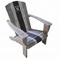 Las Vegas Raiders Wooden Adirondack Chair