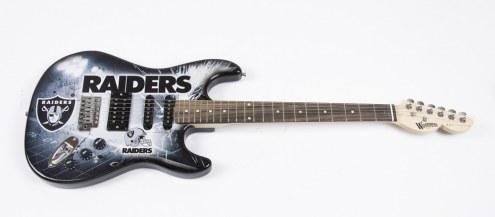 Las Vegas Raiders Woodrow Northender Electric Guitar