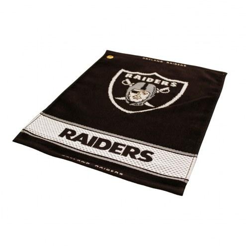 Las Vegas Raiders Woven Golf Towel