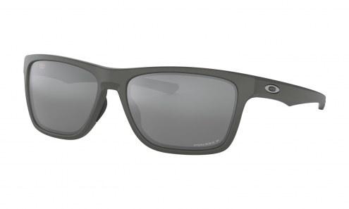 Oakley Holston Sunglasses - Matte Dark Grey / PRIZM Black Polarized