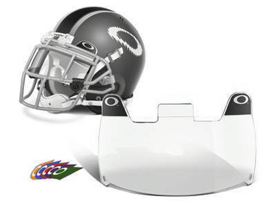 Oakley Football Eyeshield   Helmet Visor - SportsUnlimited.com b44ae2d734c