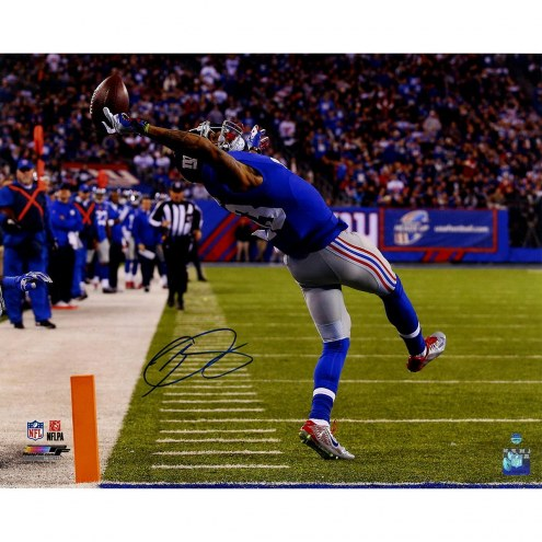 Odell Beckham Jr. Signed Close Up One-Handed Catch 16x20 Photo