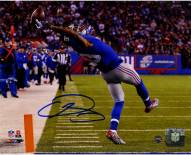 Odell Beckham Jr. Signed Close Up One-Handed Catch 8 x 10 Photo