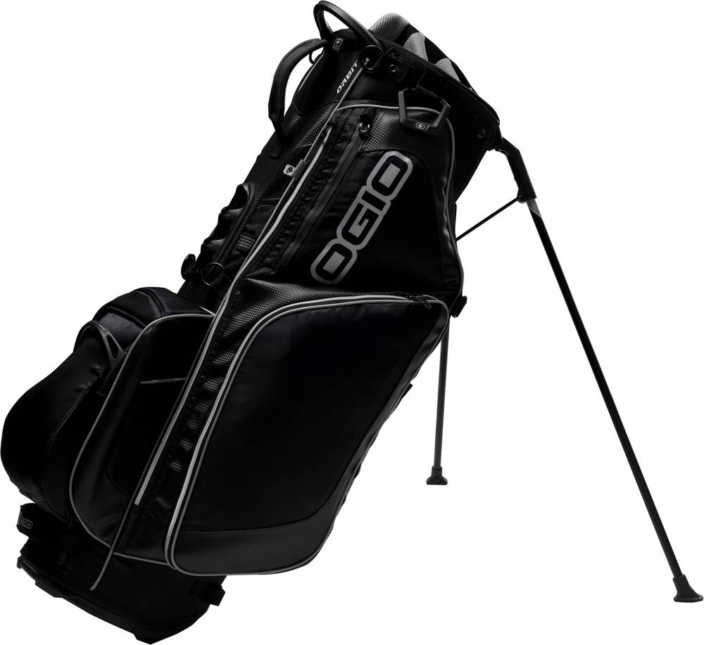 The Ogio Orbit Golf Stand Bag Features S Load Equalizing Sho X4 Full Suspension System And Advanced Molded Shoulder Pads Equip For