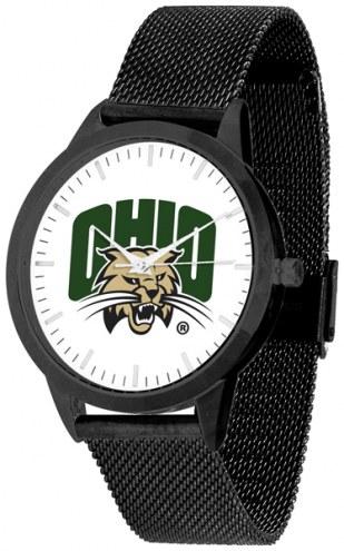 Ohio Bobcats Black Mesh Statement Watch