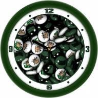 Ohio Bobcats Candy Wall Clock