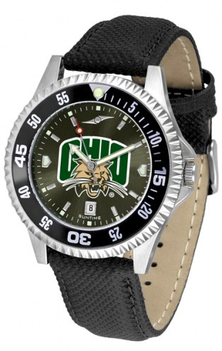 Ohio Bobcats Competitor AnoChrome Men's Watch - Color Bezel