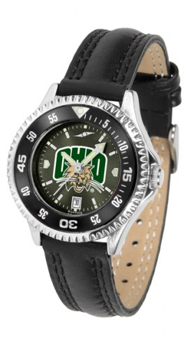 Ohio Bobcats Competitor AnoChrome Women's Watch - Color Bezel