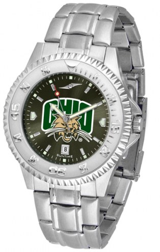 Ohio Bobcats Competitor Steel AnoChrome Men's Watch
