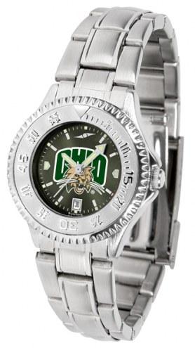 Ohio Bobcats Competitor Steel AnoChrome Women's Watch