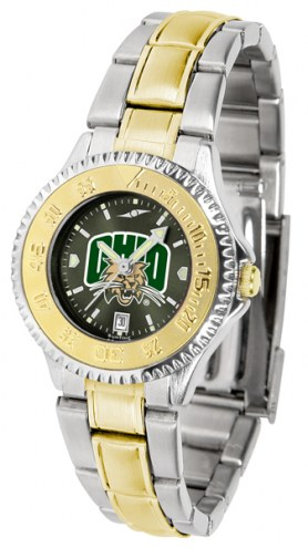 Ohio Bobcats Competitor Two-Tone AnoChrome Women's Watch