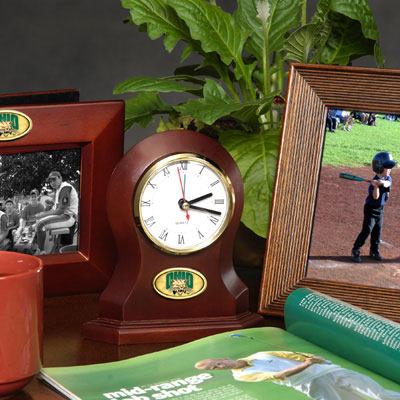 Ohio Bobcats Desk Clock