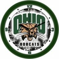 Ohio Bobcats Dimension Wall Clock