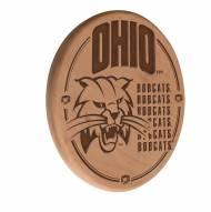 Ohio Bobcats Laser Engraved Wood Sign