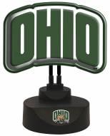 Ohio Bobcats Team Logo Neon Light