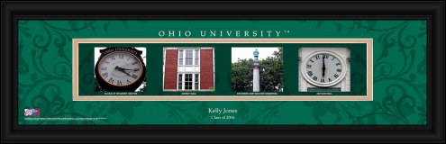 Ohio Bobcats Personalized Campus Letter Art