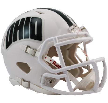 Ohio Bobcats Riddell Speed Mini Collectible Football Helmet