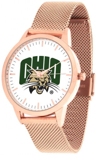 Ohio Bobcats Rose Mesh Statement Watch