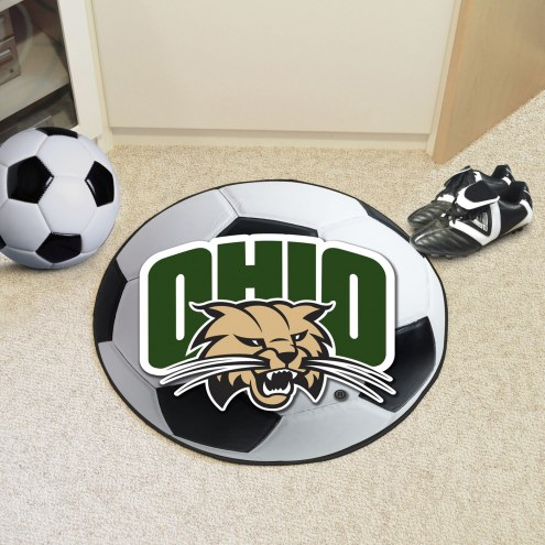 Ohio Bobcats Soccer Ball Mat