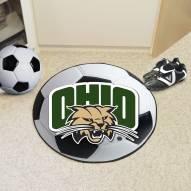 Ohio Bobcats Soccer Ball Mat