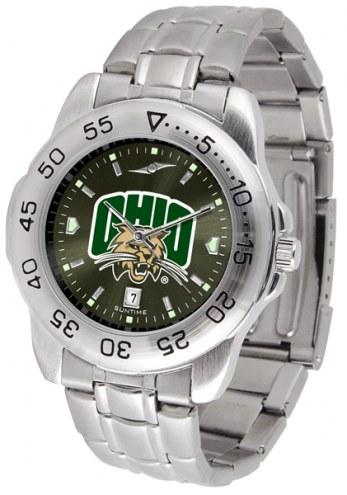 Ohio Bobcats Sport Steel AnoChrome Men's Watch