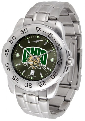 Ohio Bobcats Sport Steel AnoChrome Men's Watch
