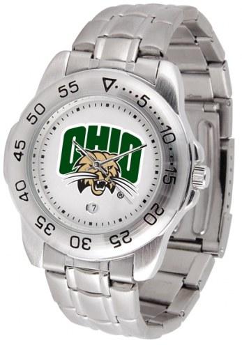Ohio Bobcats Sport Steel Men's Watch