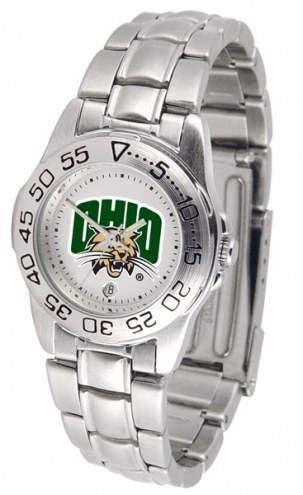 Ohio Bobcats Sport Steel Women's Watch