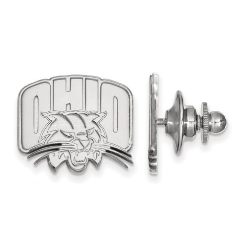 Ohio Bobcats Sterling Silver Lapel Pin