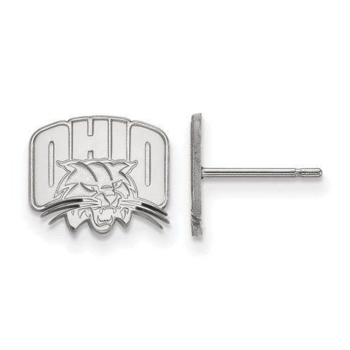 Ohio Bobcats Sterling Silver Extra Small Post Earrings