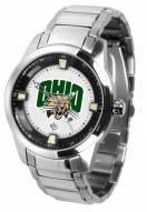 Ohio Bobcats Titan Steel Men's Watch