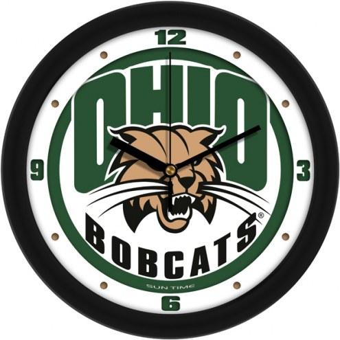 Ohio Bobcats Traditional Wall Clock