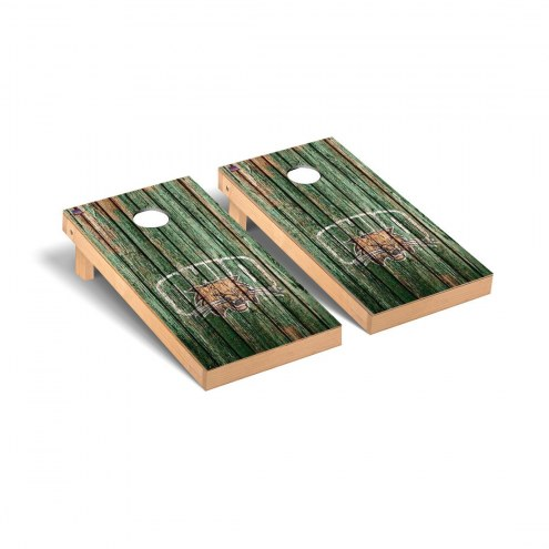 Ohio Bobcats Weathered Cornhole Game Set