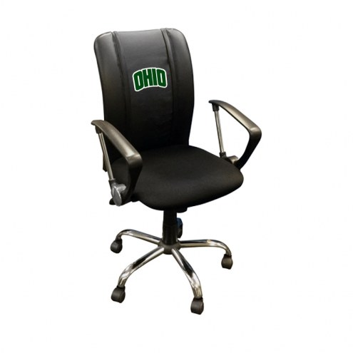 Ohio Bobcats XZipit Curve Desk Chair with Secondary Logo