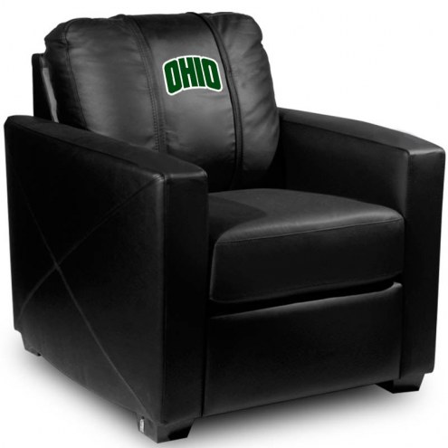 Ohio Bobcats XZipit Silver Club Chair with Secondary Logo