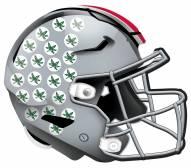 "Ohio State Buckeyes 12"" Helmet Sign"