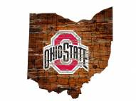 "Ohio State Buckeyes 12"" Roadmap State Sign"