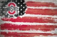 "Ohio State Buckeyes 17"" x 26"" Flag Sign"