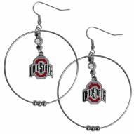 """Ohio State Buckeyes 2"""" Hoop Earrings"""